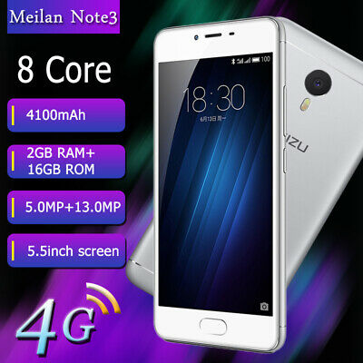 Meizu Meilan Note3 Unlocked Smart Phone 5.5'' Dual SIM Mobile 8 Core Android 4G