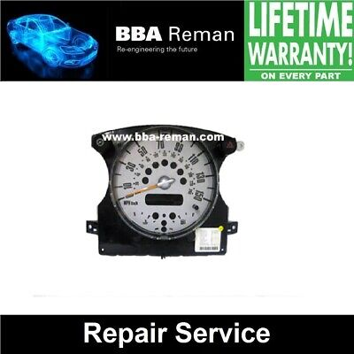 Mini Instrument Cluster **Repair Service with Lifetime Warranty!**