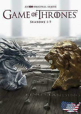 Game of Thrones: The Complete Seasons 1-7 DVD Set SEALED Season 1-7 Complete Set