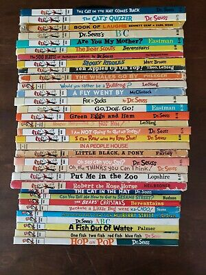 Dr. Seuss Beginner Books, Lot of 33, Hardcover