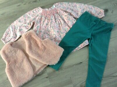 (13) 100% M+Co Girls Small Autumn Winter Bundle / Outfit 18-24Mths