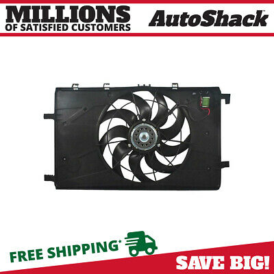 New Radiator Cooling Fan Assembly fits 2012 - 2014 Chevrolet Cruze Buick Verano