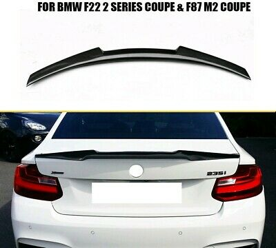 Bmw Abs F22 2 Series V Style  Performance Boot Spoiler Wing Trunk Rear Uk Seller