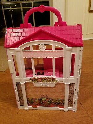 2014 Mattel Barbie Glam Getaway Fold N' Go House only