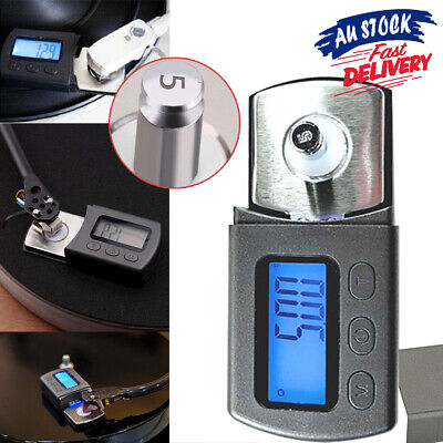 Professional Force Digital Pressure Scale LCD Stylus Portable Turntable Gauge