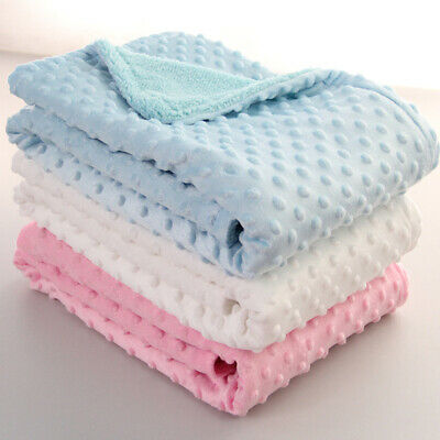 Baby Blanket Swaddling Newborn Thermal Soft Blanket Bedding Cotton Quilt