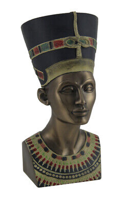 Ancient Egyptian Queen Nefertiti Bronze Finished Statue