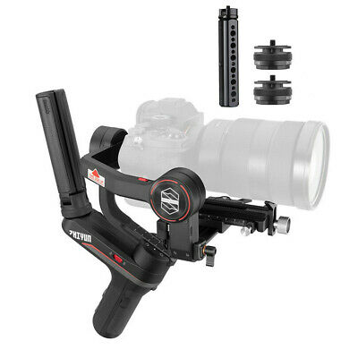 US Zhiyun Weebill S 3-Axis Gimbal for Mirrorless and DSLR Cameras Like Sony A7M3