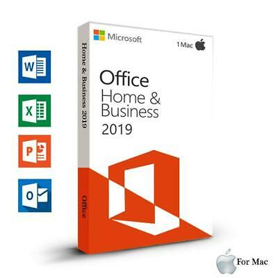 Microsoft Office 2019 Home & Business MAC (1 MAC) OSX MACOSX ESD - 24h delivery