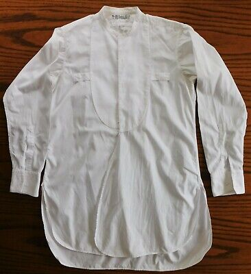 Marcella tunic dress shirt United Africa Company size 15 vintage 1940s 1950s