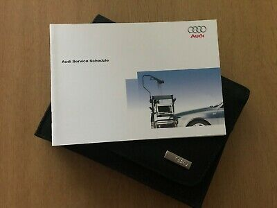 Brand New Audi Service Book Genuine Unused Covers All Models 2010 -  2019 All