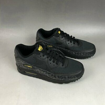 AIR MAX 90 Mens / Womens Trainers Black Classic Sneaker Running Shoes UK Size