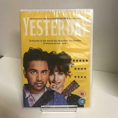 Yesterday DVD (2019) New and Sealed