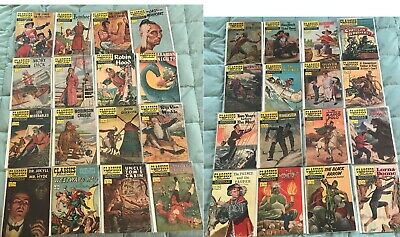 Classics Illustrated 1-169 complete set VG 114 originals 230 issues in all