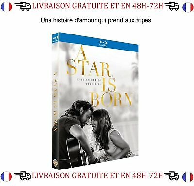 Blu-Ray Film A Star is Born  Bradley Cooper Lady Gaga Drame Musique