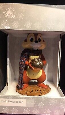 Disney Parks 2019 Christmas Holiday Chipmunk Chip Nutcracker NEW Chip And Dale