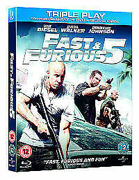Fast & Furious 5 - Limited Edition Steelbook [Blu-ray + DVDBrand new and sealed
