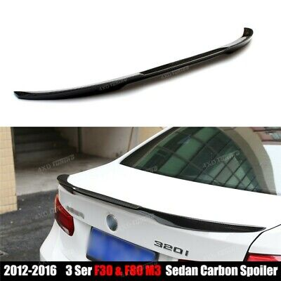 Bmw 3 Series F30 F80 M4 V Performance Type Trunk Boot Spoiler Gloss Black
