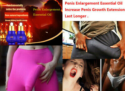 1 x PENIS ENLARGER OIL DICK Growth Faster Enhancement Enlargement Oil Natural