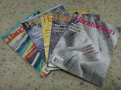 Handwoven Magazine Lot all 1998 issues Jan Mar May Sept Nov