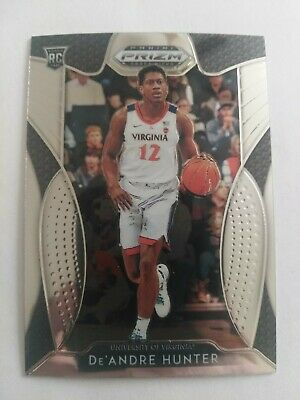 2019-20 Panini Prizm Draft Base Rookie Card RC Deandre hunter