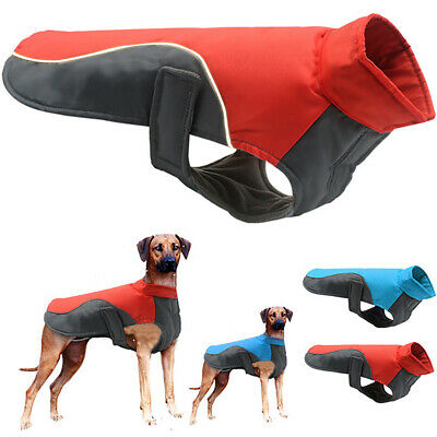 Reflective Waterproof Dog Coats Jacket Winter Warm Padded Vest Puppy Pet Clothes