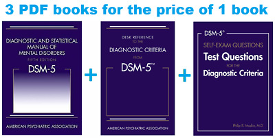 DSM-5 Diagnostic and Statistical Manual of Mental Disorders 5th Edition [E-BO0K]