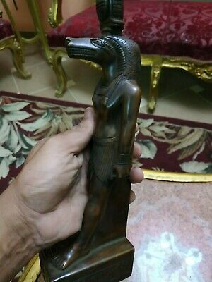 Very RARE ANCIENT EGYPTIAN ANTIQUE BROUWN  SOBEK 1650 BC