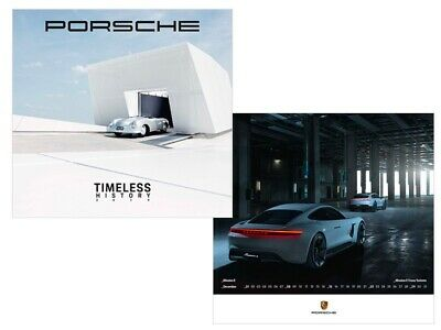 "2020 Porsche Calendar Collectors item /""Spectrum/"" With Commemorative Coin"