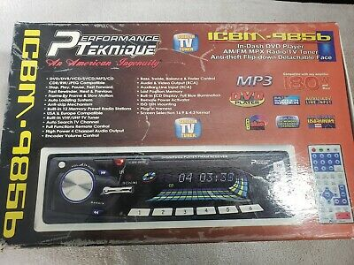 performance teknique ICBN-9856 in dash dvd player, In org box