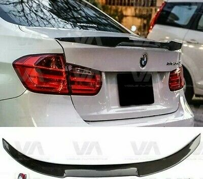Bmw 3 Series F30 F80 M4 V Style Performance  Trunk Boot Spoiler Gloss Black
