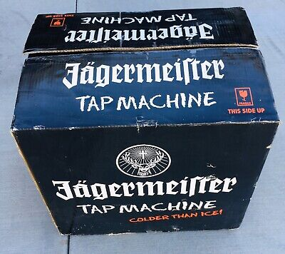 Jagermeister Tap Machine Three Bottle Shot Dispenser Chiller Jemus New Open Box