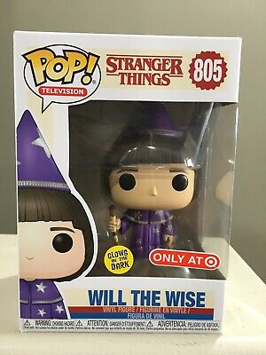 Funko Pop! Stranger Things Will The Wise Glow In Dark #805 Target Exclusive!