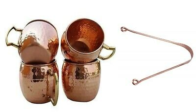 Hammered Copper Moscow Mule Mug Drinking Cup 100% Pure Solid Copper Gift 16 Oz