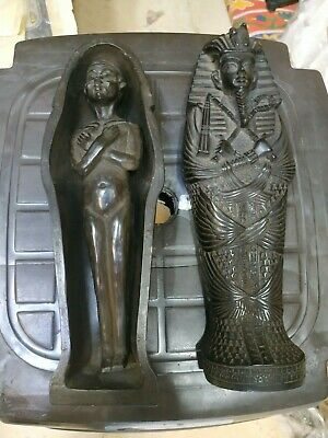 Antique Egyptian Sarcophagus Ancient Middle Kingdom Funerary Ushabti Coffin