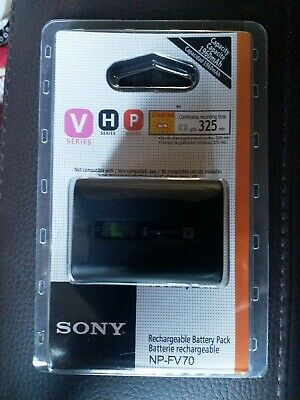 6.8V SONY NP-FV70 Rechargeable Li-ion Battery Pack new unused