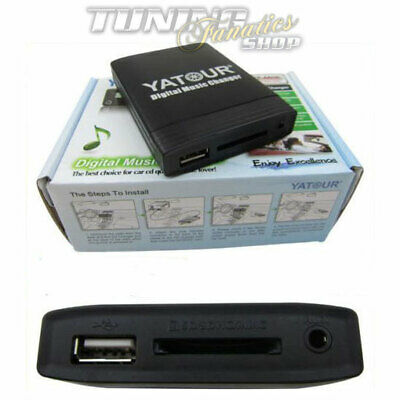 Bluetooth M/úsica adaptador para BMW Rundpin 17pin Old Generaci/ón Radio