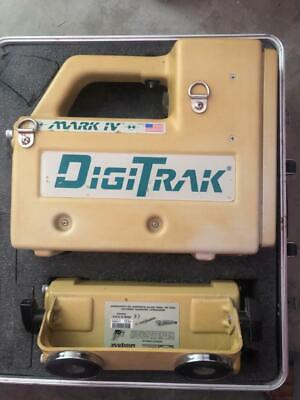 Digitrak Mark IV locator transmitter  Remote receiver and display with  4 sondes