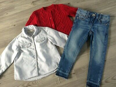 (13) Zara Nutmeg Next Girls Small Autumn Winter Bundle / Outfit 2-3Yrs