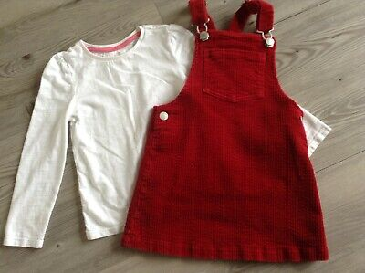 (B11) Next Tu Girls  Autumn Winter Small Bundle /Outfit Age 3-4Yrs Pinafore Top