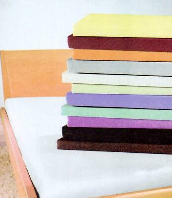 Jersey Fitted Sheets 100% Cotton Budget Quality Mixed Colours Single & Double