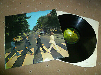 141g BEATLES Abbey Road 1st Press -2/-1 UK LP PCS 7088