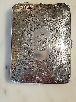 Antique Sterling Silver Art Nouveau Coin Purse