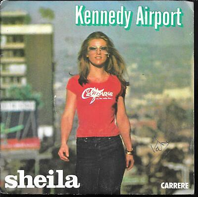 "45 Tours / 7"" Single--Sheila--Kennedy Airport"