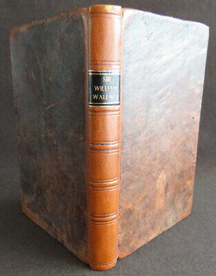 WILLIAM WALLACE *1785* BLIND HARRY Blair SCOTLAND HEROIC FOLKLORE Poem HAMILTON