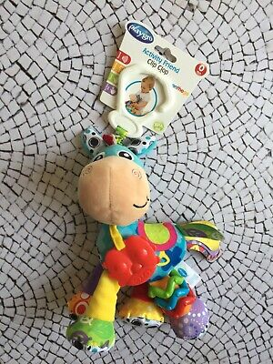 Playgro Activity Friend Clip Clop Rattle Teether Toy 0m+