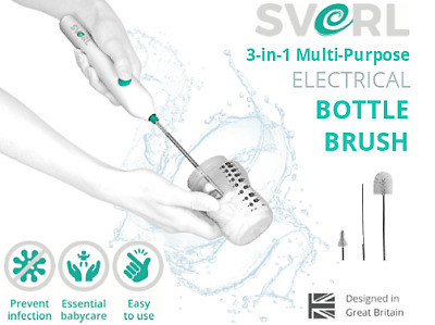 SVERL® Multi-Purpose Electrical Bottle Brush