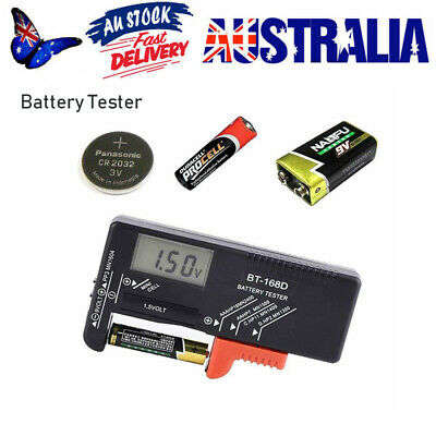AA AAA Battery Volt Tester Checker Indicator DC 9V 1.5V Universal Button Cell