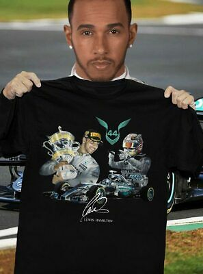 Lewis Hamilton AMG Petronas sport Formula One World Champion t-shirt S-5XL