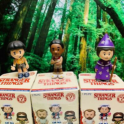 Funko Mystery MIni Stranger Things 3 Lucas, Will the Wise and Mike Mystery Minis